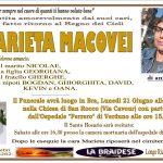 LUTTO MARIETA MACOVEI