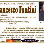LUTTO FRANCESCO FANTINI