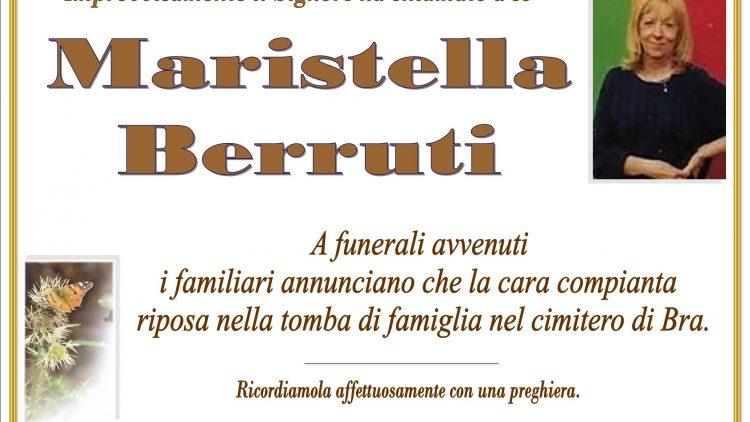LUTTO MARISTELLA BERRUTI