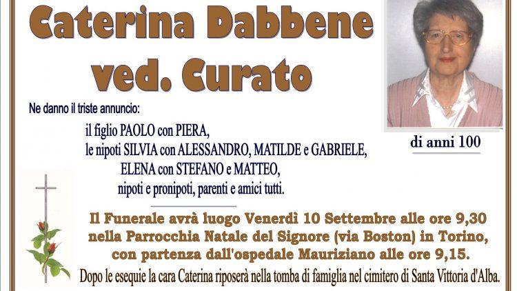LUTTO CATERINA DABBENE