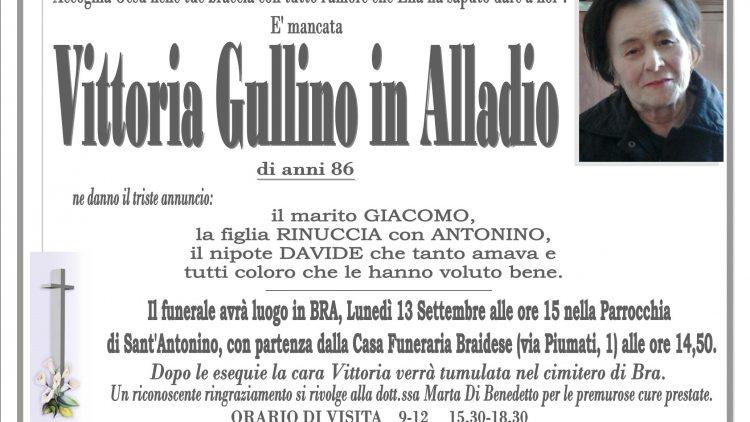 LUTTO VITTORIA GULLINO