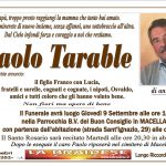 LUTTO PAOLO TARABLE