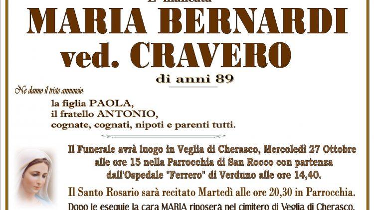 LUTTO MARIA BERNARDI