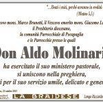 ANNUNCIO DON ALDO MOLINARIS